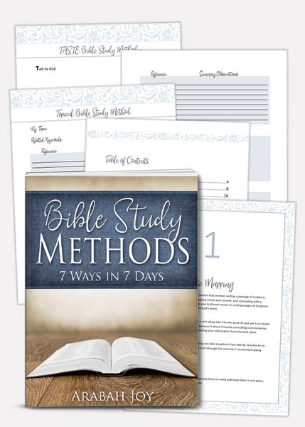 Bible study methods