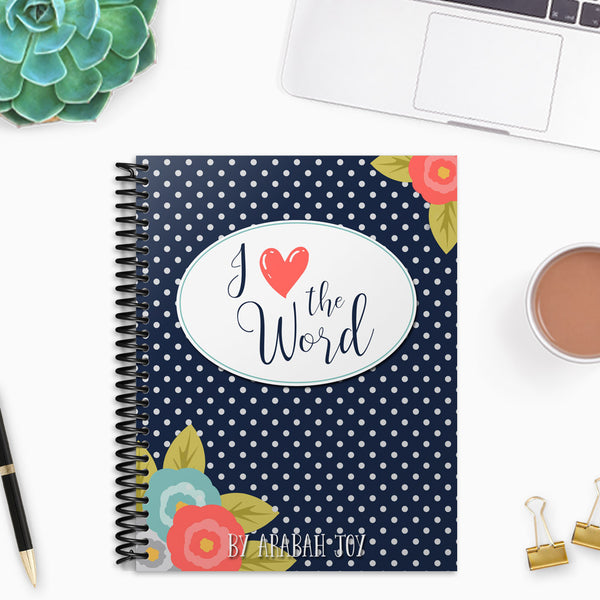 Love the Word Bible Study Binder {66 pages}