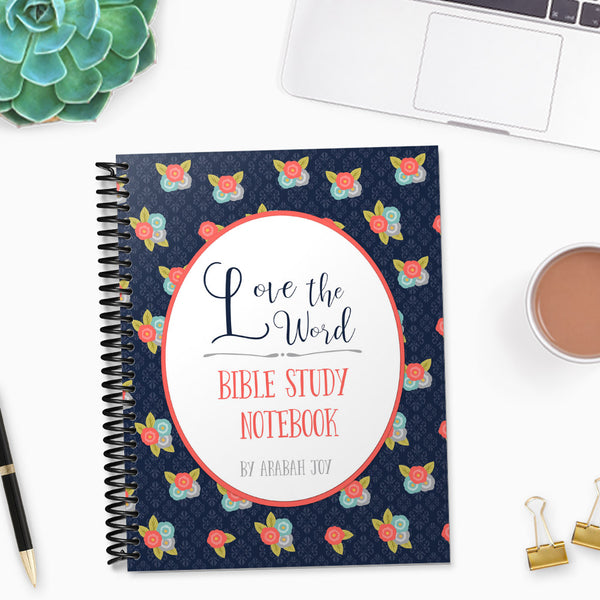 Love the Word Bible Study Binder {66 pages PDF}