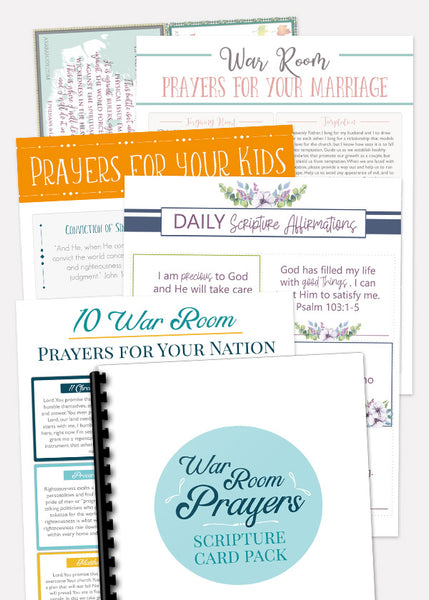 Mega War Room Scripture Card Pack