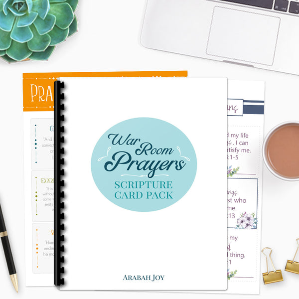 Mega War Room Scripture Card Pack {50 Scripture Cards}