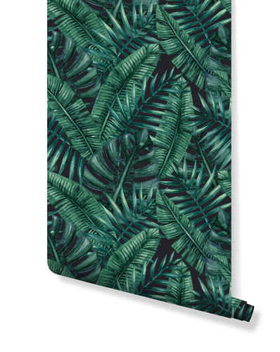 Tropical Tagged Stick And Peel Wallpaper Costacover
