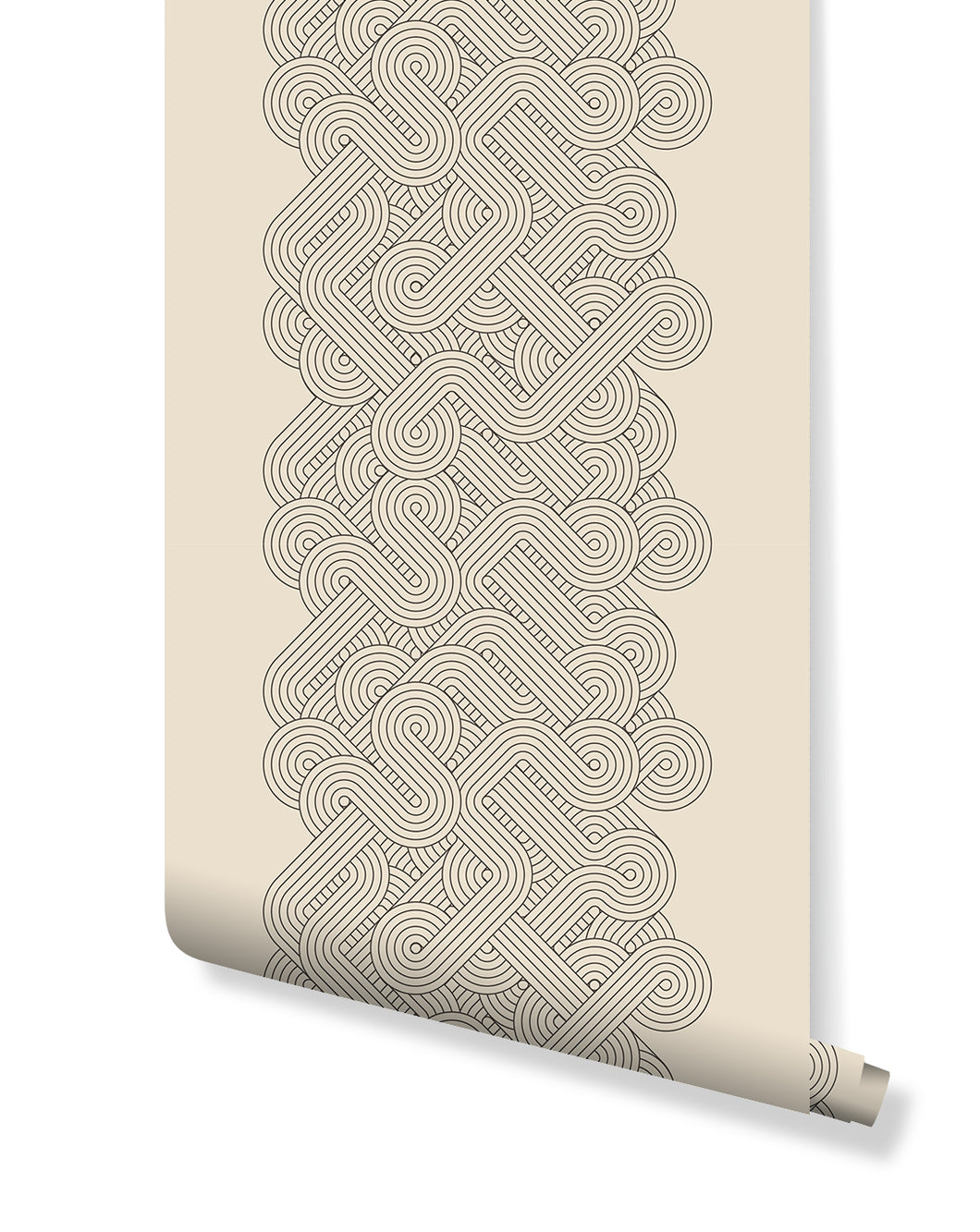 Self Adhesive Removable Wallpaper 70 S Style Retro Lines