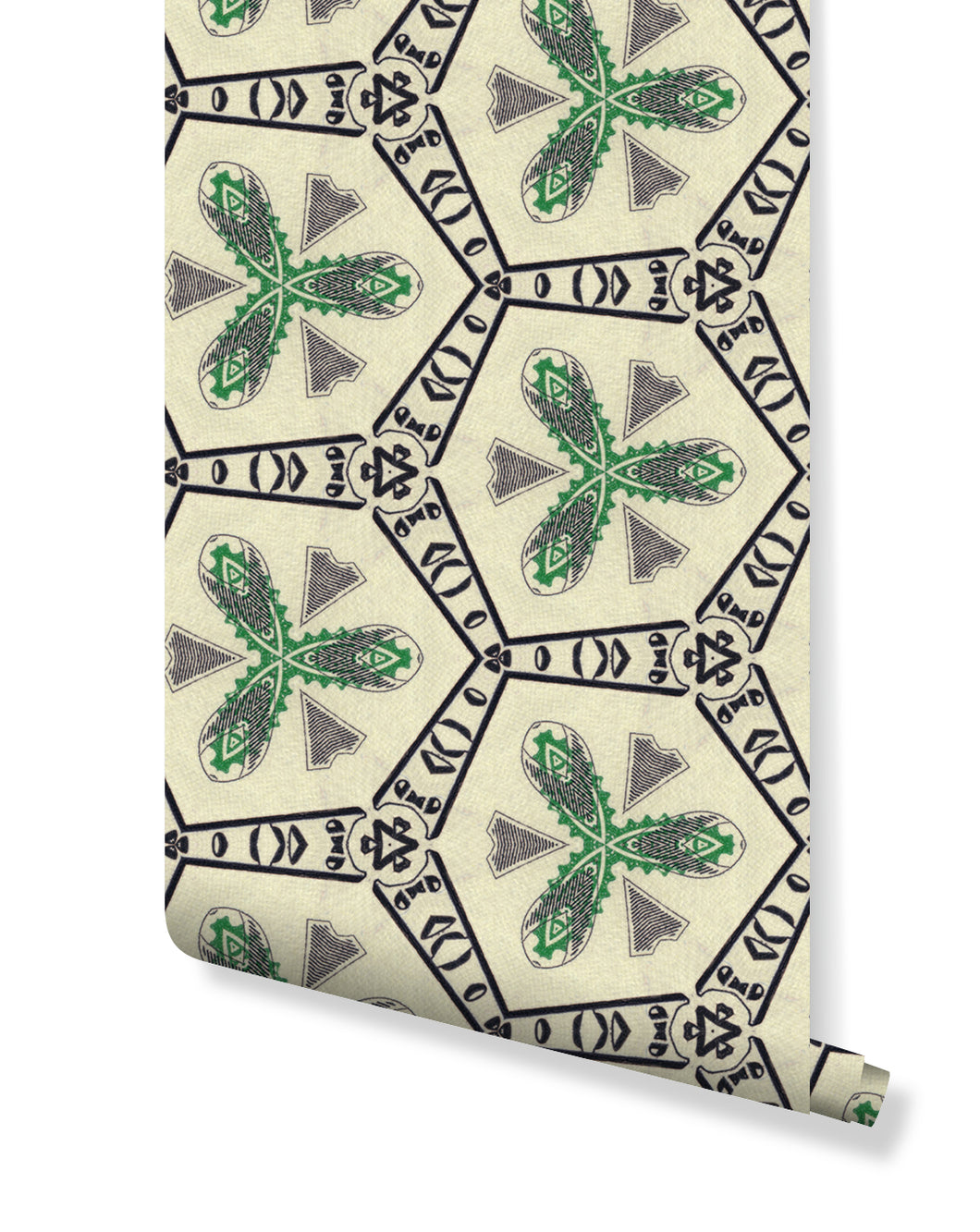 Self adhesive removable green wallpaper with dollar bill banknote watermark design, great for home decor interior, money wall