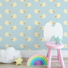 Self Adhesive Little Sheep Removable Wallpaper CC159