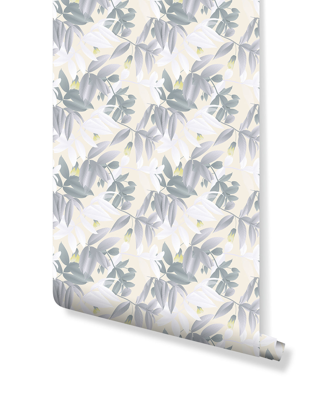 Self Adhesive Pastel Color Floral Removable Wallpaper Costacover