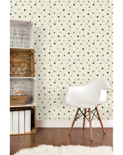 Self Adhesive Removal Wallpaper Vinyl with Minimalistic Abstract Geometric Circles and Lines - Peel and Stick Custom Colors available CC105