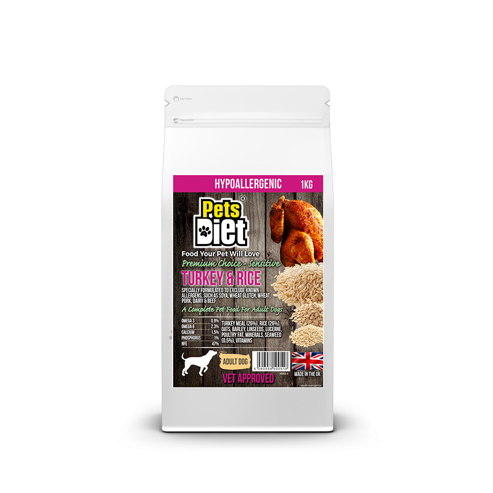 Pets Diet Turkey & Rice ADULT
