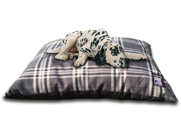 Dog Cushion Bed - Hard Wearing Quality Fabric - Pet Goodys