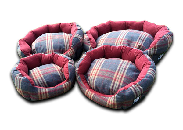Deluxe Blow Dog Bed - Hard Wearing Quality Fabric - Pet Goodys