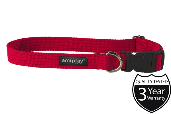 Ami Play Dog Collar Cotton - Pet Goodys
