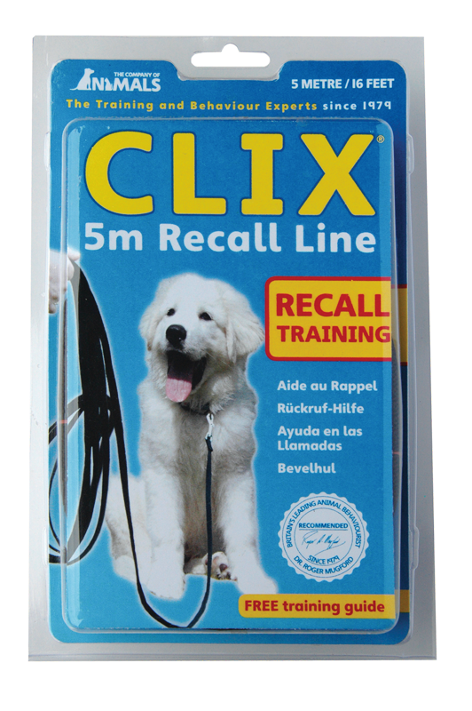 Clix Recall Line Dog Lead - Pet Goodys