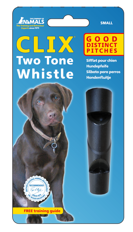 CLIX Two Tone Dog Training Whistle - Pet Goodys