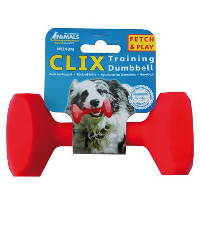Clix Dog Training Dumbbell - Pet Goodys