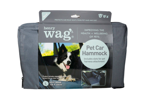 Henry Wag- Pet Car Hammock Seat - Pet Goodys