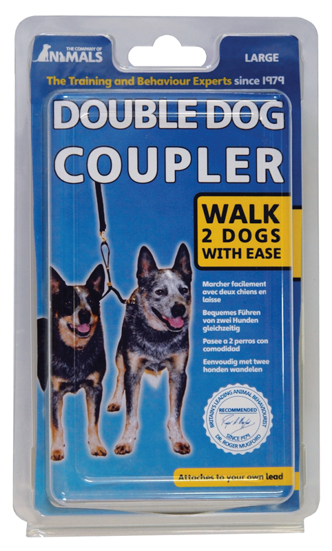 COA Double Dog Coupler - Pet Goodys