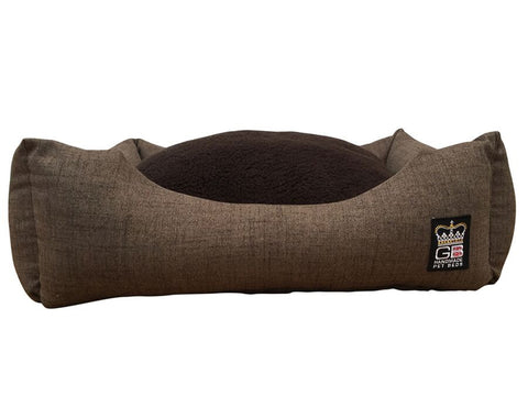 Classic Settee Drop Front Arran Wool Lookalike - Pet Goodys