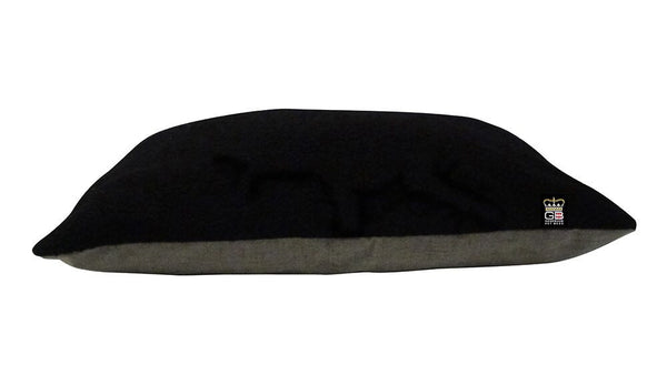 Cushion Dog Bed Arran Wool Lookalike - Pet Goodys