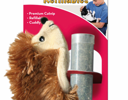 Kong Hedgehog Refillable Catnip Cat Toy - Pet Goodys