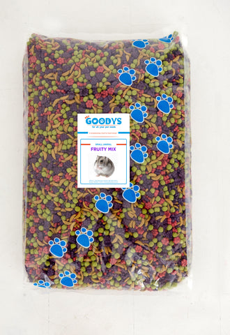 Small Animal Fruity Mix  7KG - Pet Goodys