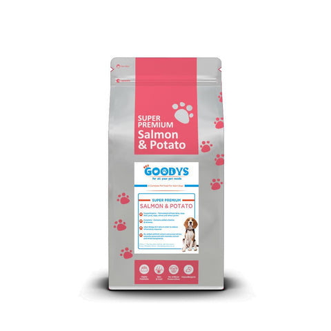 Super Premium - Adult Salmon & Potato Dog Food - Pet Goodys