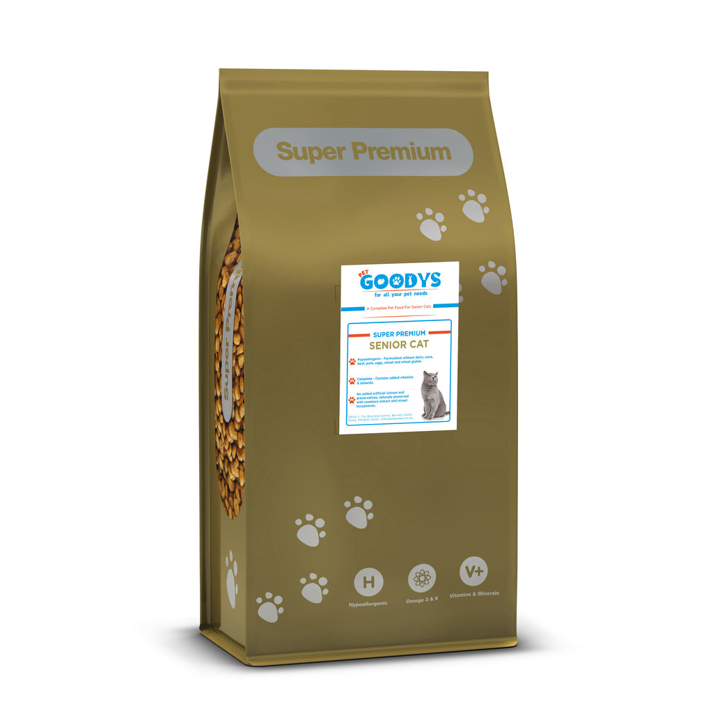Super Premium Cat Food - Senior 7.5 KG - Pet Goodys