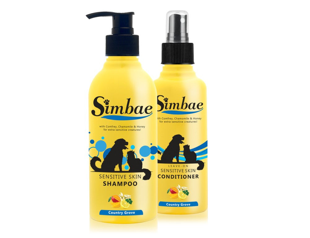 Sensitive Skin Bundle Dog & Cat Shampoo - Conditioner - Pet Goodys