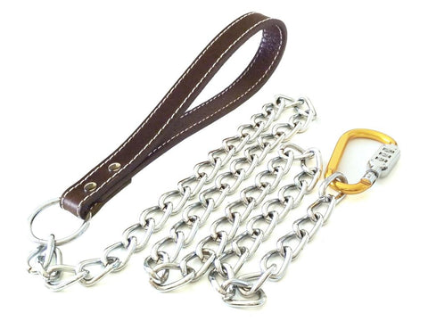 Lead+ Security Dog Chain Lead - Pet Goodys