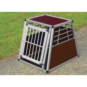 Metal Transport Dog Crate Large - Pet Goodys
