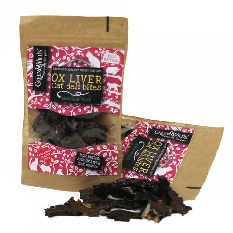 Ox Liver Deli Bites (Cats) (40g) - Pet Goodys