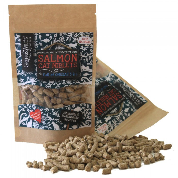 Salmon Cat Niblets 75g - Pet Goodys