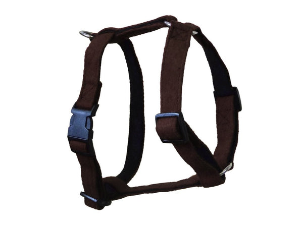 Brown Wool Dog Harness - Pet Goodys