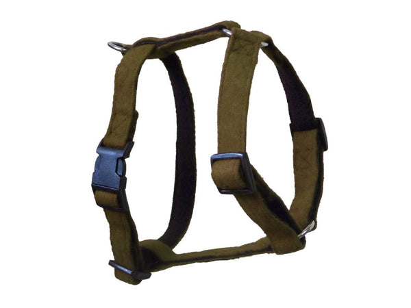 Green Wool Dog Harness - Pet Goodys