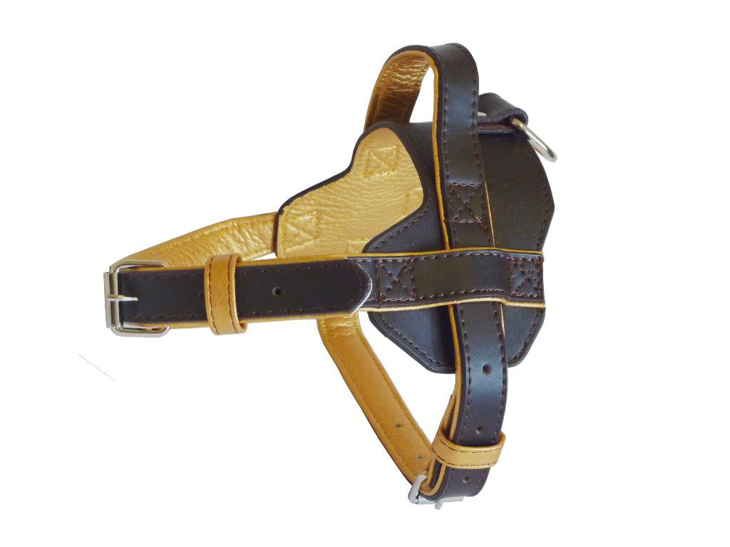Fusion Brown Dog Harness - Pet Goodys