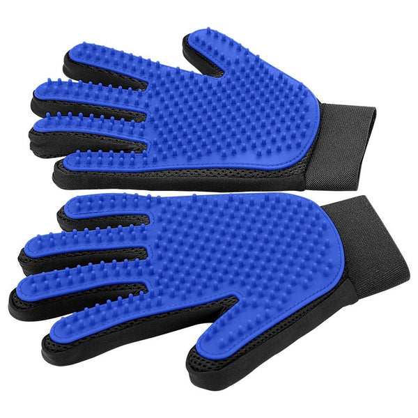Pet Grooming Glove - Gentle Descending Right Brush Glove