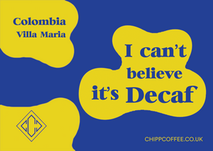 I can't believe it's Decaf!