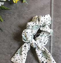 Fresh Mint scrunchie