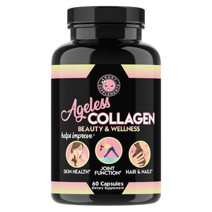 Ageless Collagen, Rejuvenates Hair, Skin & Nails, Promotes Bone & Cartilage Health