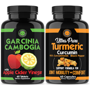 Turmeric & Garcinia with Apple Cider Vinegar Combo Pack
