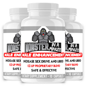 Monster in a Minute, Male Enhancement Pills
