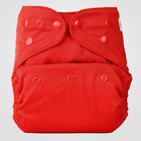 Diaper Cover (Red)