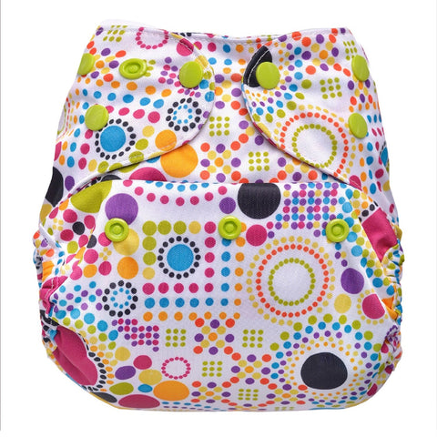 Cover Diaper (Retro Print)