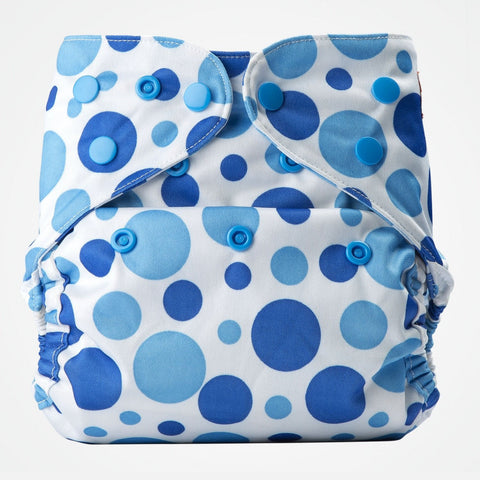Cover Diaper (Blue Dots)