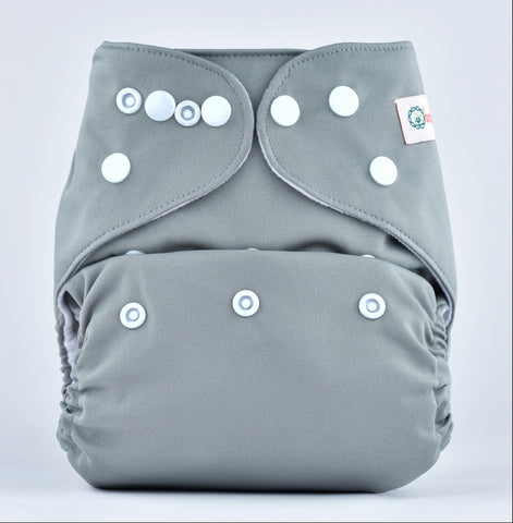 Pocket Diaper (Grey)