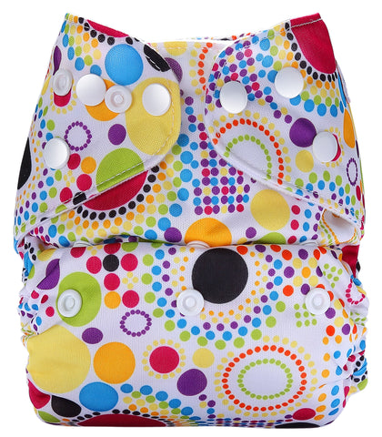 Pocket Diaper (Retro Print)
