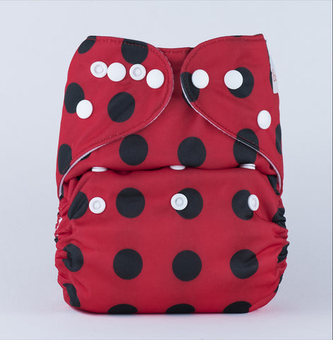 Pocket Diaper (Lady Bug)