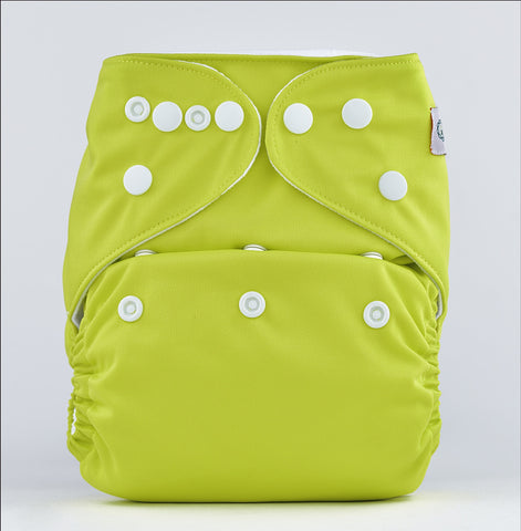 Pocket Diaper (Bright Green)