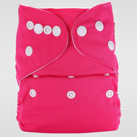 Pocket Diaper (Rose Pink)