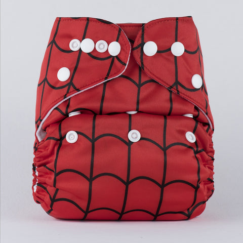 Pocket Diaper (Spiderman)