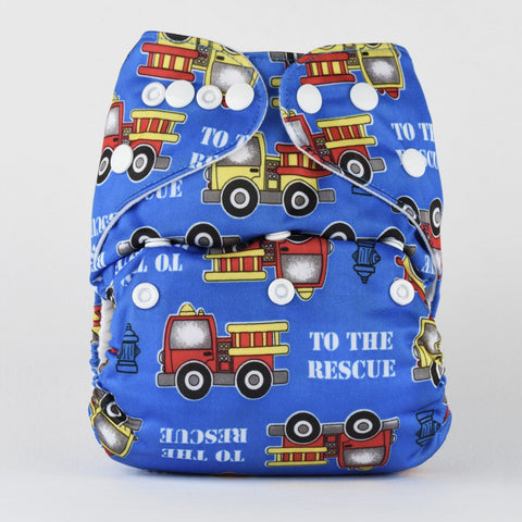 Pocket Diaper (Trains)